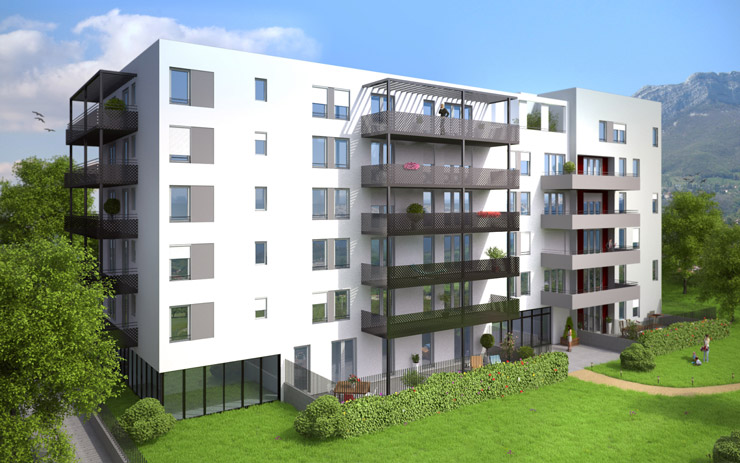 Modélisation 3D du programme immobilier le Madison