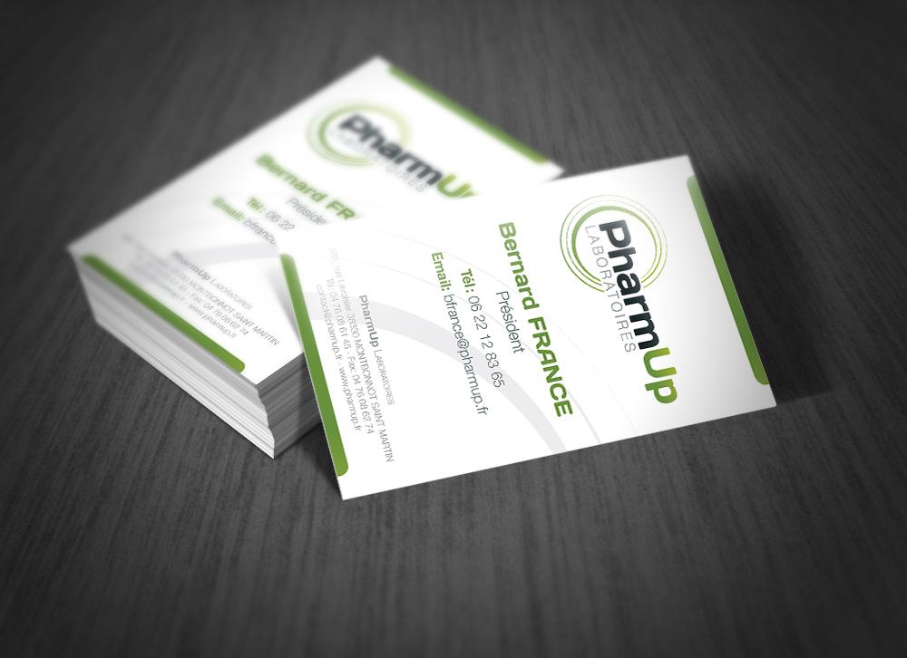 Cartes de visite pharmUp