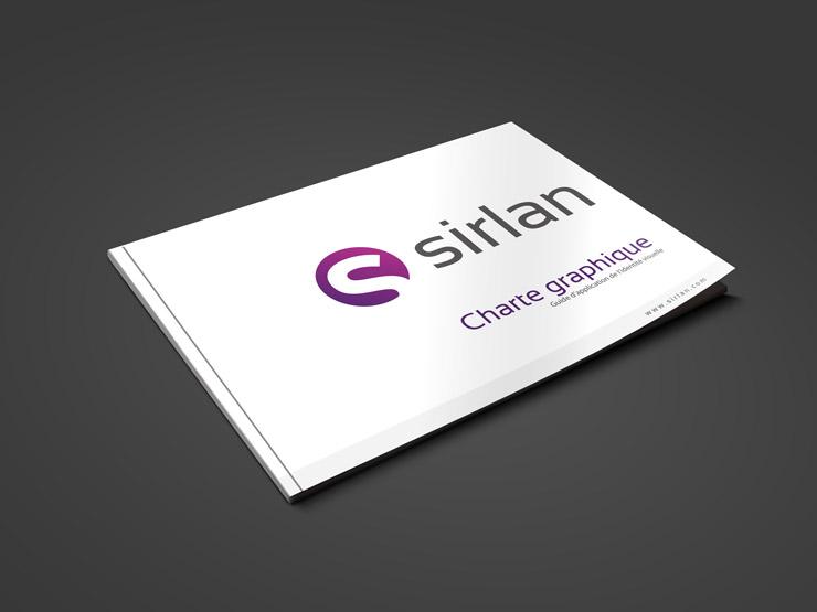 Charte graphique Sirlan technologies